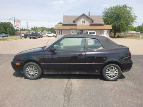 1999 Volkswagen Cabrio for sale at JIM WOESTE AUTO SALES & SVC in Long Prairie MN