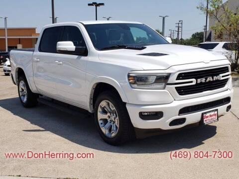 2019 RAM Ram Pickup 1500 for sale at DON HERRING MITSUBISHI in Irving TX