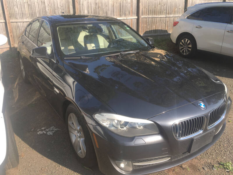 2012 BMW 5 Series for sale at MELILLO MOTORS INC in North Haven CT