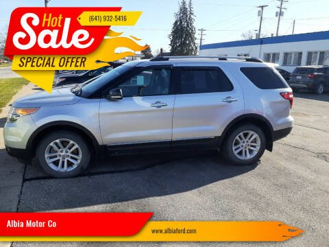 2015 Ford Explorer for sale at Albia Motor Co in Albia IA