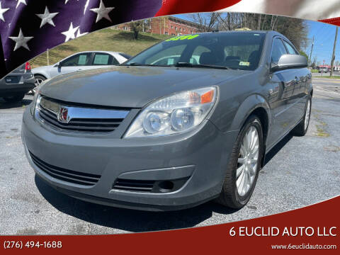 2007 Saturn Aura for sale at 6 Euclid Auto LLC in Bristol VA