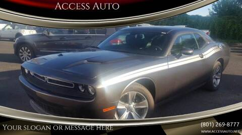 2016 Dodge Challenger for sale at Access Auto in Salt Lake City UT