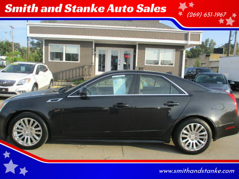 2012 Cadillac CTS for sale at Smith and Stanke Auto Sales in Sturgis MI