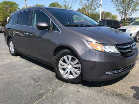 2016 Honda Odyssey for sale at Town Square Motors in Lawrenceville GA