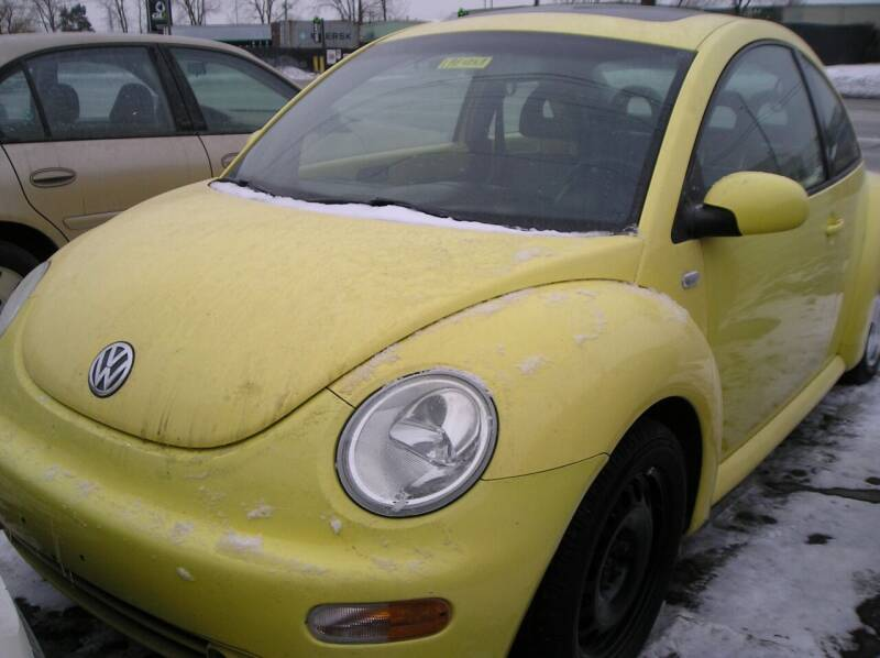 2001 Volkswagen New Beetle for sale at ZJ's Custom Auto Inc. in Roseville MI