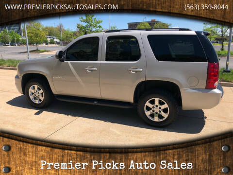 2007 GMC Yukon for sale at Premier Picks Auto Sales in Bettendorf IA