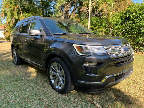 2019 Ford Explorer for sale at Nation Autos Miami in Hialeah FL