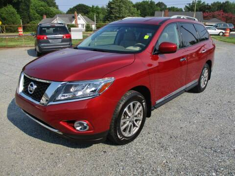 2014 Nissan Pathfinder for sale at Family Auto Sales of Mt. Holly LLC in Mount Holly NC
