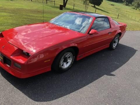 1989 Chevrolet Camaro for sale at Classic Car Deals in Cadillac MI