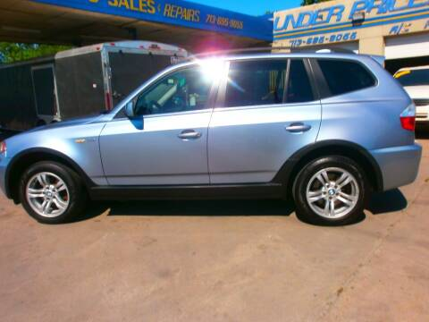 2006 BMW X3 for sale at Under Priced Auto Sales in Houston TX