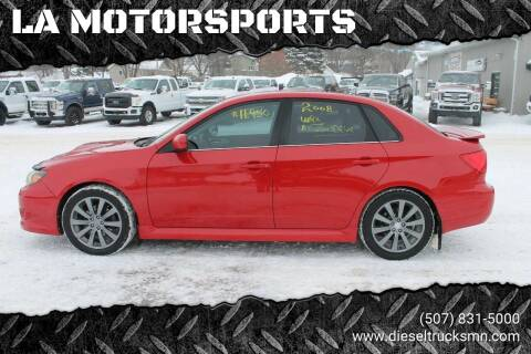 2008 Subaru Impreza for sale at LA MOTORSPORTS in Windom MN