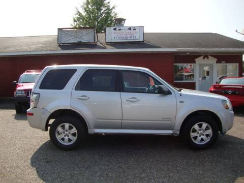 2008 Mercury Mariner for sale at G and G AUTO SALES in Merrill WI