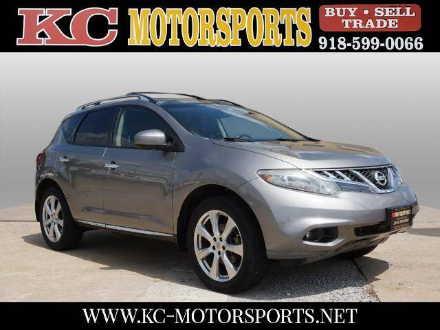 2012 Nissan Murano for sale at KC MOTORSPORTS in Tulsa OK