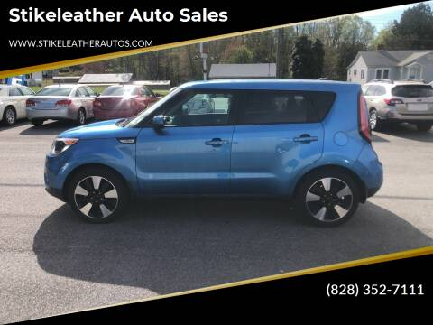 2017 Kia Soul for sale at Stikeleather Auto Sales in Taylorsville NC