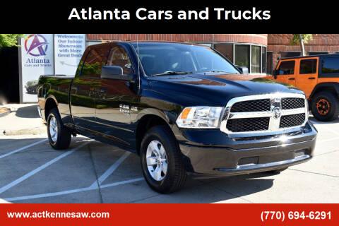 2021 RAM Ram Pickup 1500 Classic for sale at Atlanta Cars and Trucks in Kennesaw GA