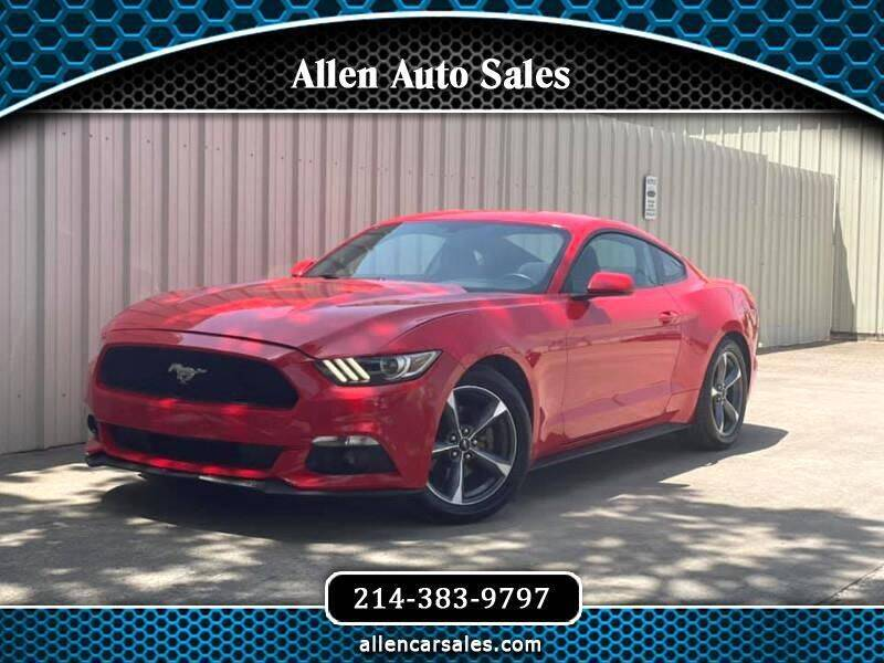 2015 Ford Mustang for sale at Allen Auto Sales in Dallas TX