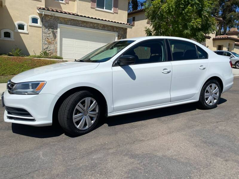 2015 Volkswagen Jetta for sale at CALIFORNIA AUTO GROUP in San Diego CA