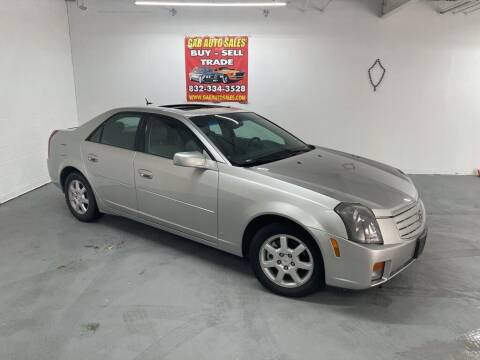 2007 Cadillac CTS for sale at 4 Girls Auto Sales in Houston TX