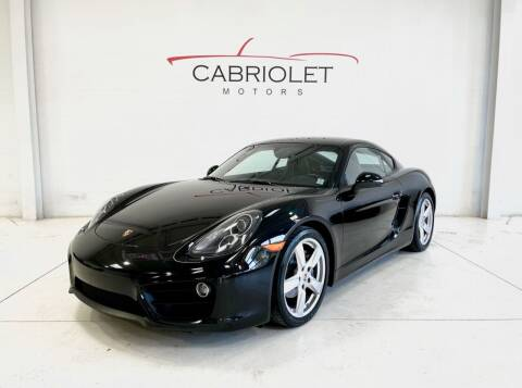 2015 Porsche Cayman for sale at Cabriolet Motors in Morrisville NC