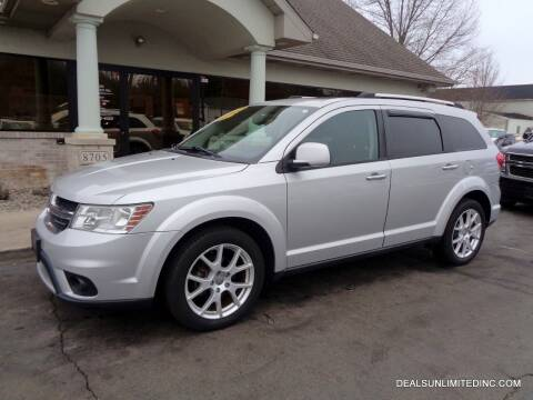 2012 Dodge Journey for sale at DEALS UNLIMITED INC in Portage MI