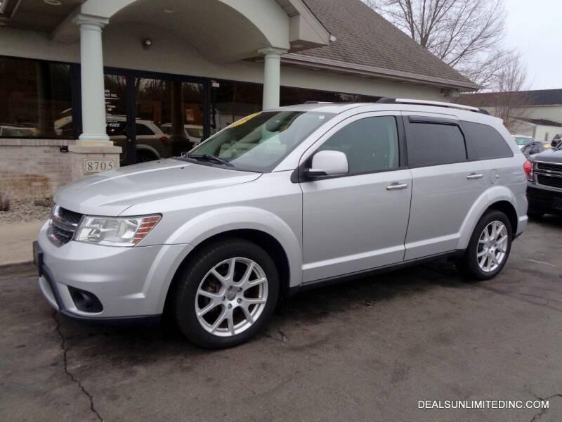 2012 Dodge Journey for sale at DEALS UNLIMITED INC in Portage MI