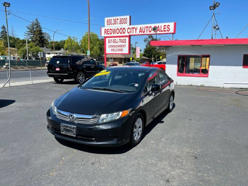 2012 Honda Civic for sale at Redwood City Auto Sales in Redwood City CA