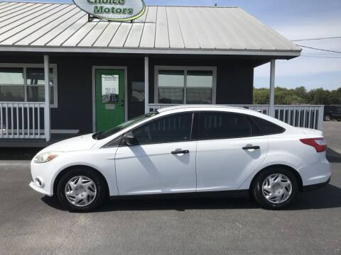 2014 Ford Focus for sale at Credit Choice Motors in Sherman TX