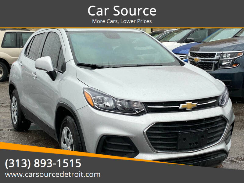 2018 Chevrolet Trax for sale at Car Source in Detroit MI