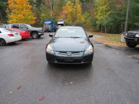 2005 Honda Accord for sale at Heritage Truck and Auto Inc. in Londonderry NH