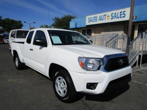 2015 Toyota Tacoma for sale at Salem Auto Sales in Sacramento CA
