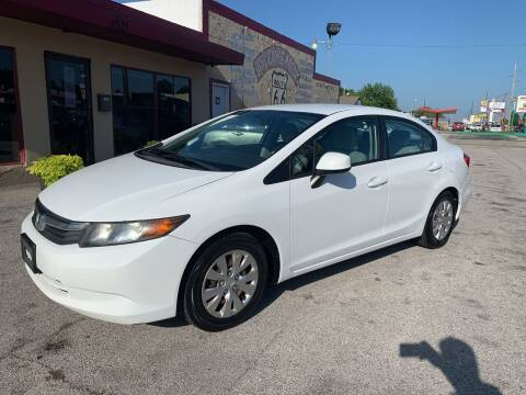 2012 Honda Civic for sale at New To You Motors in Tulsa OK