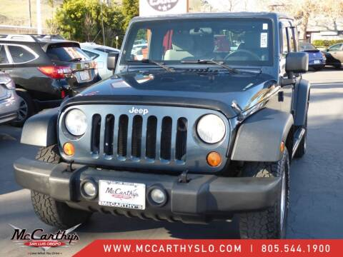 2007 Jeep Wrangler Unlimited for sale at McCarthy Wholesale in San Luis Obispo CA