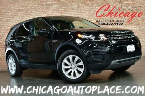 2016 Land Rover Discovery Sport for sale at Chicago Auto Place in Bensenville IL