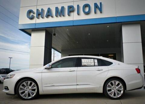 2017 Chevrolet Impala for sale at Champion Chevrolet in Athens AL