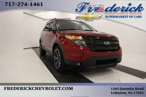 2014 Ford Explorer for sale at Lancaster Pre-Owned in Lancaster PA