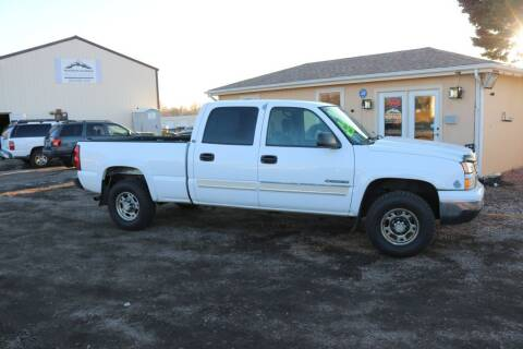 2006 Chevrolet Silverado 1500HD for sale at Northern Colorado auto sales Inc in Fort Collins CO