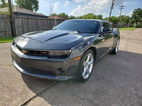 2015 Chevrolet Camaro for sale at MOTORSPORTS IMPORTS in Houston TX