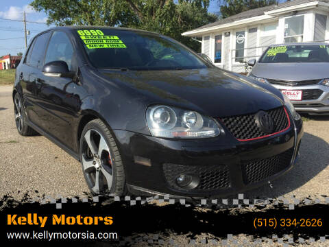 2008 Volkswagen GTI for sale at Kelly Motors in Johnston IA