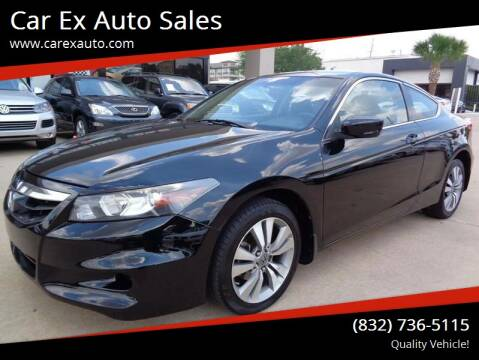2011 Honda Accord for sale at Car Ex Auto Sales in Houston TX