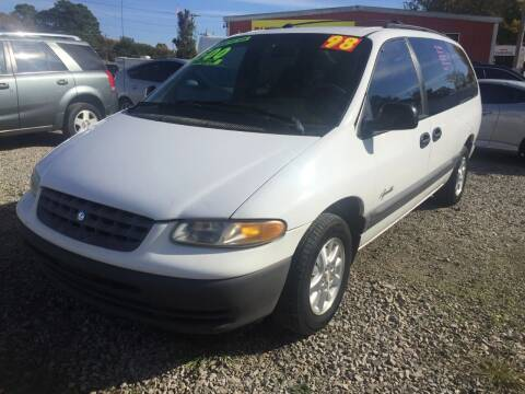 1998 Plymouth Grand Voyager for sale at McAllister's Auto Sales LLC in Van Buren AR