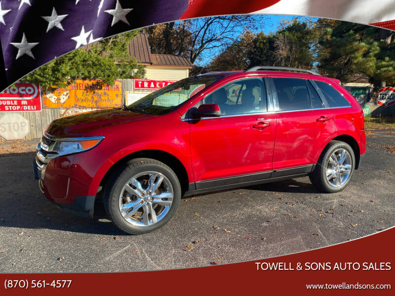 2013 Ford Edge for sale at Towell & Sons Auto Sales in Manila AR