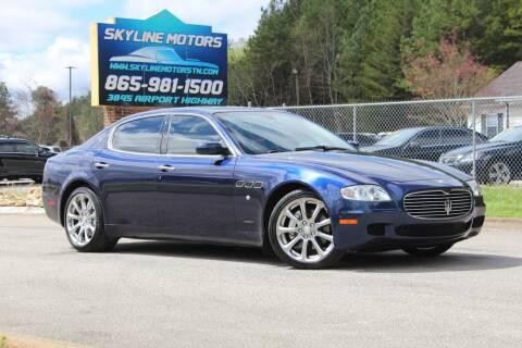 2008 Maserati Quattroporte for sale at Skyline Motors in Louisville TN