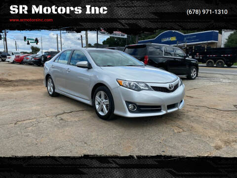 2013 Toyota Camry for sale at SR Motors Inc in Gainesville GA