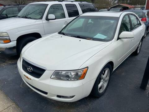 2006 Hyundai Sonata for sale at Sartins Auto Sales in Dyersburg TN