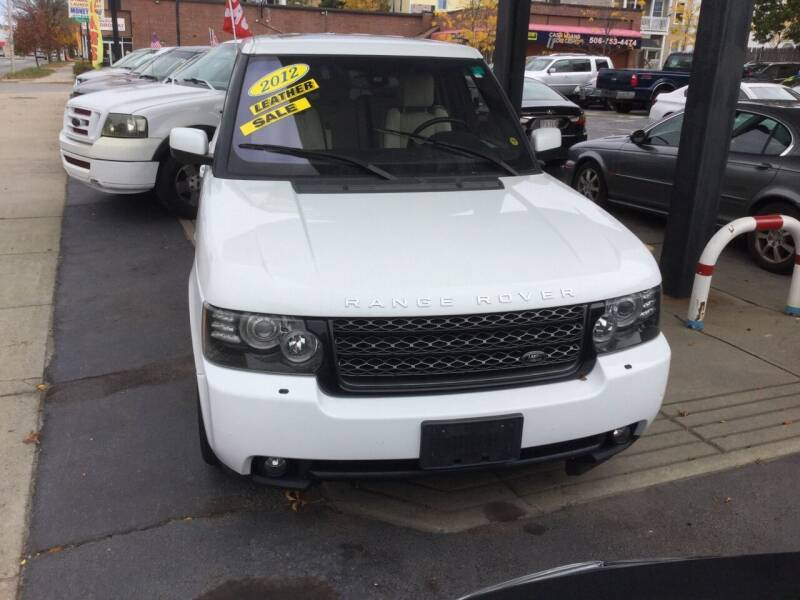 2012 Land Rover Range Rover for sale at Olsi Auto Sales in Worcester MA