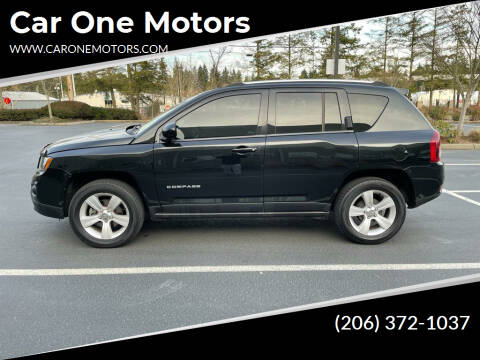 2014 Jeep Compass for sale at Car One Motors in Seattle WA