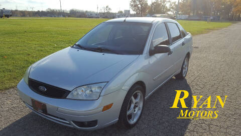 2007 Ford Focus for sale at Ryan Motors LLC in Warsaw IN