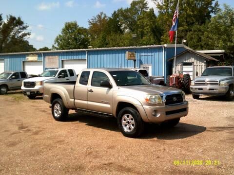 2005 Toyota Tacoma for sale at Tom Boyd Motors in Texarkana TX