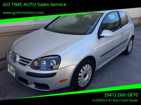 2007 Volkswagen Rabbit for sale at Go Time Automotive in Sarasota- Bradenton FL
