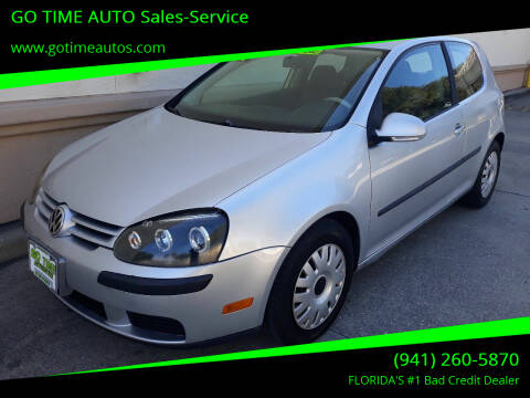 2007 Volkswagen Rabbit for sale at Go Time Automotive in Sarasota FL